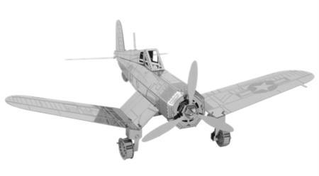 军事 飞机 airplanes   fascinations mms035 metal works 3d f4u