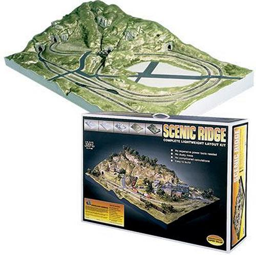 Scenic ridge n scale layout